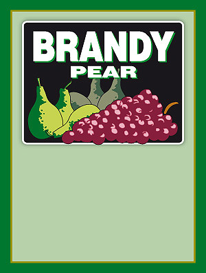 Rótulo Brandy 012
