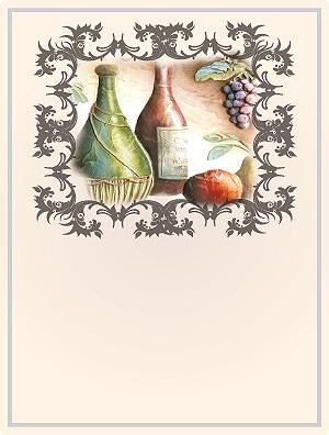 Rótulo Vinho Branco 045